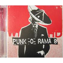 Varios Artistas - Punk -o- Rama 8 Importado De Usa 2cd
