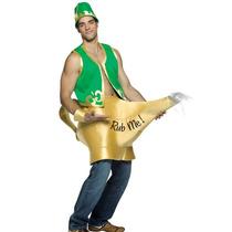 Disfraz Halloween Adulto Genio Y La Lampara Magica
