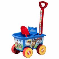 Caminhão De Praia Cargo Wagon Patrulha Canina Multibrink