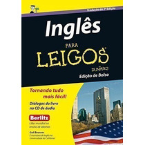 Livro Inglês Para Leigos - Edição De Bolso Gail Brenner