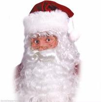 Peluca Barba Y Bigote Santa Claus Santa Clos 116 Navidad
