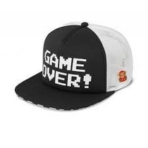 Gorra Cachucha Nintendo Vans Trucker Hat Game Over