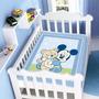 Cobertor Jolitex Infantil Berço Bebê Disney Mickey Baby Boy