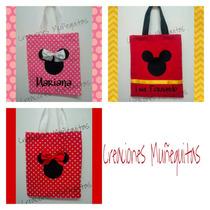 Bolsitas Dulceros Mimi Minnie Y Mickey Mouse Piñatas Bolos