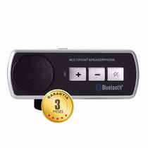 Manos Libres Bluetooth Con Altavoz Para Auto Android Iphone