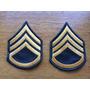 Par De Divisas De Sargento Para Jaqueta M65 -staff Sergeant