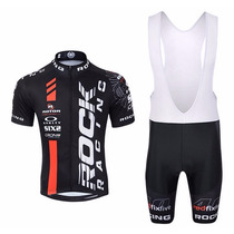 Conjunto Roupa Ciclismo Bike Rock Short Camisa & Coolmax Gel