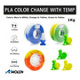 PLA Temp. Color Change