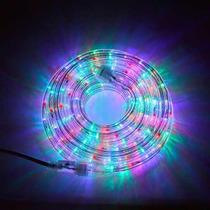 Luces Arbol Led Multicolor Manguera 10mt Navidad Control