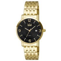 Relógio Dumont, Pulseira De Aço Dourada - Du2115bp/4p