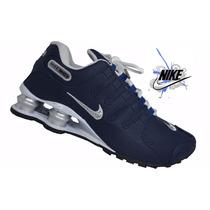 Tenis Nike Shox Nz Masculino Original Em Couro Na Caixa