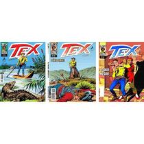Revista Tex Coleção Kit 04 Com 03 Unidades 223, 224, 283