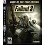 Fallout 3 Goty Ps3!! Nuevo!! Aceptamos M.p.