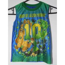 Camiseta Playera Ben 10 Talla 4 Años Niño Nuevo Originla