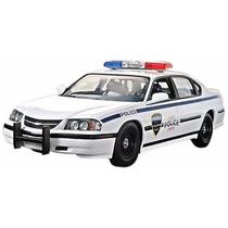 Chevy Impala, Policía Carro Modelo Para Armar 1:25 De Revell
