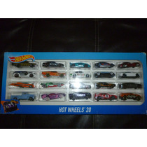Carritos Hot Wheels Pista Hotwheels Hotwheel Set Paquete 20