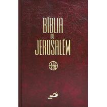 Bíblia De Jerusalém - Média Capa Dura / Frete Grátis