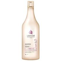 Shampoo Ladyhair Tradicional Anti-residuos Oleo De Argan 1l