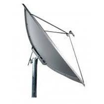 Antena Parabolica De Chapa Aluminio Banda C E Ku 85cm