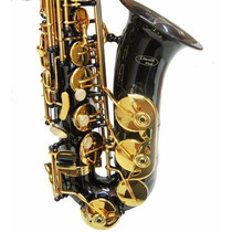 Lincoln Saxo Alto Deluxe Black Niquel Housemusic