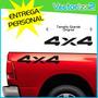 Calcomania 4x4 Dodge Ram Lateral Camioneta Sitio Fisico