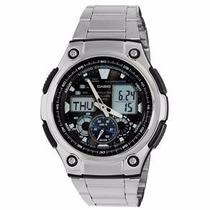 Relógio Casio Masculino Analógico Digital Aq-190wd-1avdf