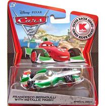 Disney Cars Francesco Bernoulli With Metallic Finish Mattel