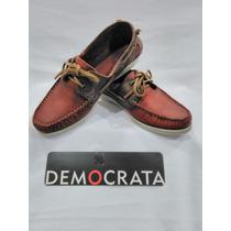 Sapato Mocassim Docksider Democrata Masculino Lançamento