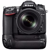 Grip De Bateria Meike Mk-d7100 Para Câmera Nikon D7100