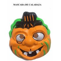Mascara De Calabaza Dia De Muertos