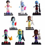 Monster High School Minifiguras X8 Draculaura Cleo Frankie