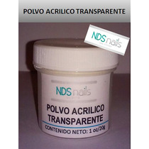 1/2 Oz 10 G Polvo Acrilico Transparente O Pink Nds.nails