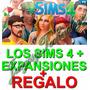 Los Sims 4 Con Sus Expansiones En Digital + Regalo