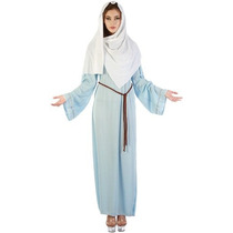 Virgen María Traje - Señoras Natividad Fantasía De Navidad