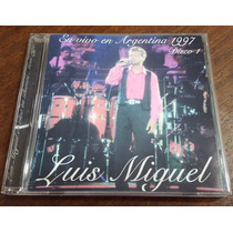 Luis Miguel En Vivo En Argentina 1997 2cd Velez Arjona