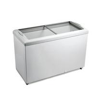 Freezer Horizontal Tampa De Vidro 433 Litros Hf40s Metalfrio