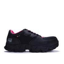 Zapato De Seguridad Negro Y Rosa Powertrain Esd