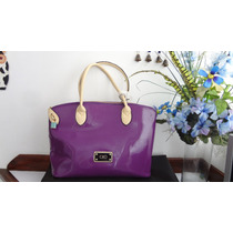 Cartera Ciao Coleccion Spiga Color Violeta