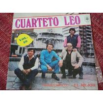 Vinilo Lp Cuarteto Leo Vol. 49 Simplemente ...el Mejor