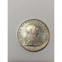 Medalha Antiga E Rara Do Vaticano 36g 4,3cm - Prata