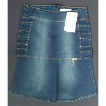 Saia Jeans Evangélica N°44 - Pikuxa Glamour
