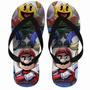 Chinelo Mario Vs Sonic Games Nintendo Cod 15392