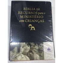 Bíblia Recursos Min Infantil - Apec-luxo Preta -frete Gratis
