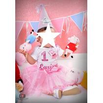 Fantasia Peppa Bailarina Com Nome Smach The Cake