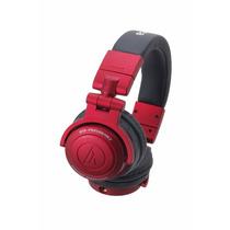 Fone De Ouvido Dj Pro Audio Technica Ath Pro500 Mk2 Vermelho