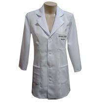 Jaleco Feminino Personalizado Bordado Kit Com 15 Unidades