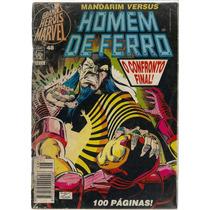 Revista Grandes Heróis Marvel 48 - Mandarim Homem De Ferro