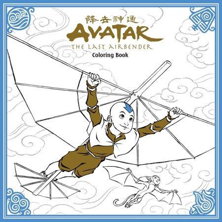 Avatar: La Leyenda De Aang Libro Para Colorear - $ 47.429 en Mercado ...