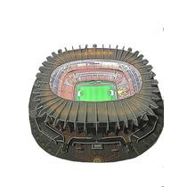 Maqueta 3d Estadio Azteca Luz Led
