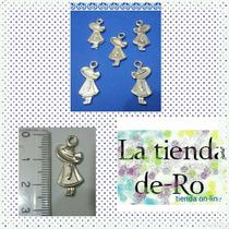Nenas Dije/ Metal/ 2, 5cm/ 5 Unidades